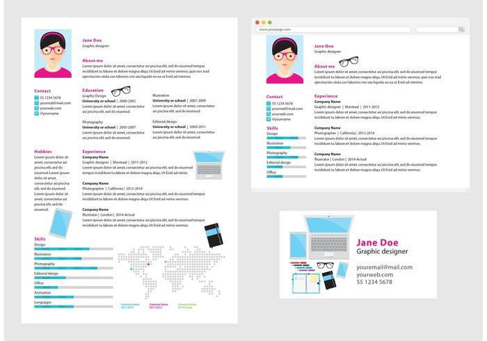 Vector Curriculum Vitae Chef - Download Free Vector Art, Stock ...