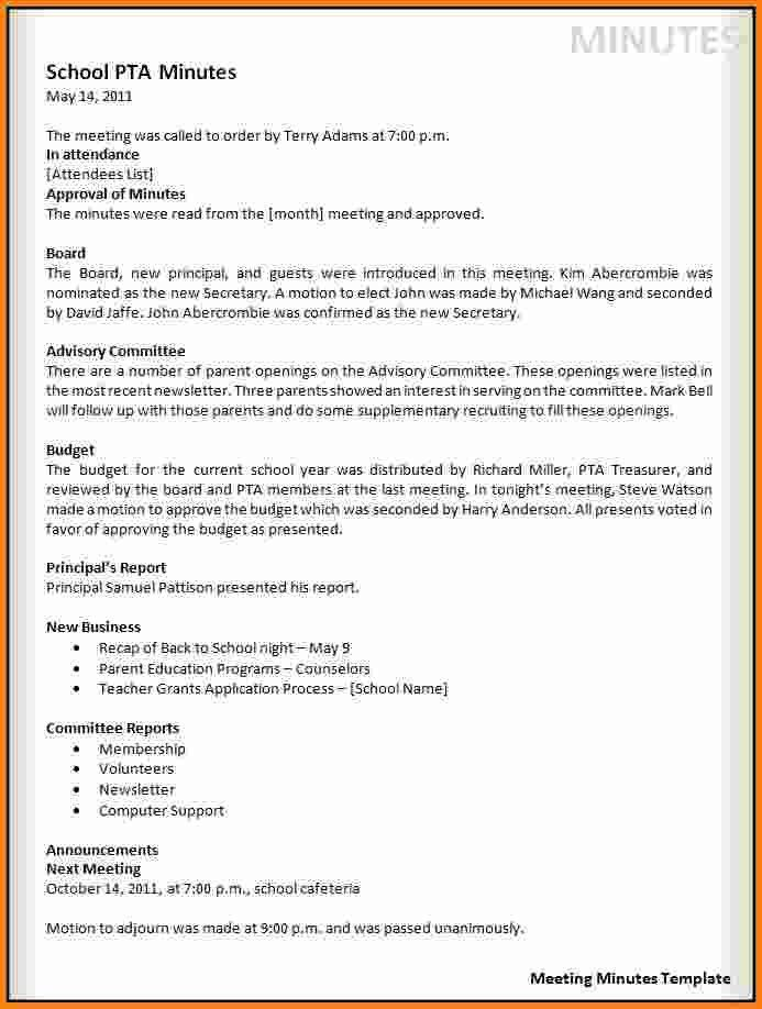 6+ meeting minutes template word | cashier resume