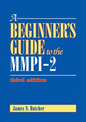 Minnesota Multiphasic Personality Inventory-MMPI, MMPI-2, MMPI-A ...