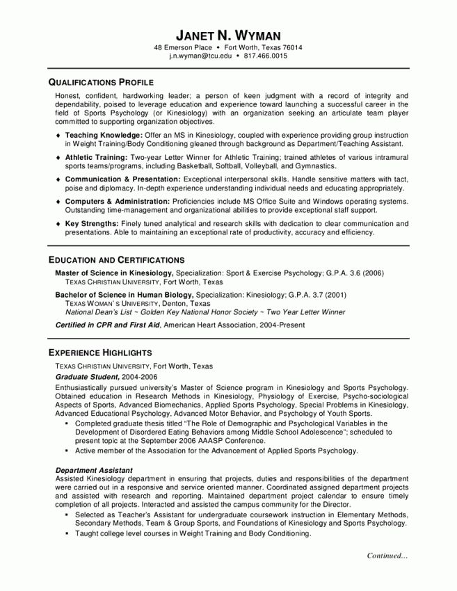 14 Resume Format For Postgraduate Students Resume graduate school ...