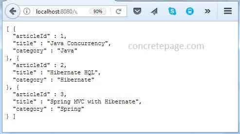 Boot XML Configuration Example