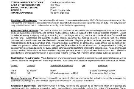 Medical Records Technician Resume unit clerk resume: medical ...