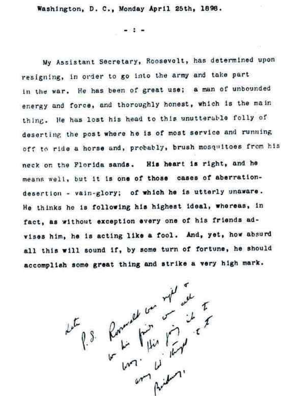 Theodore Roosevelt - Almanac of Theodore Roosevelt - Teddy Roosevelt
