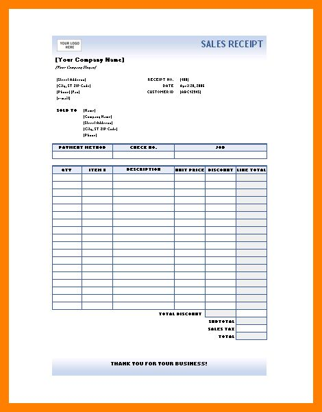 5+ sales receipt format | coaching-resume