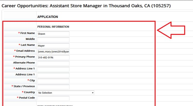 How to Apply for Marshalls Jobs Online at tjx.com/career