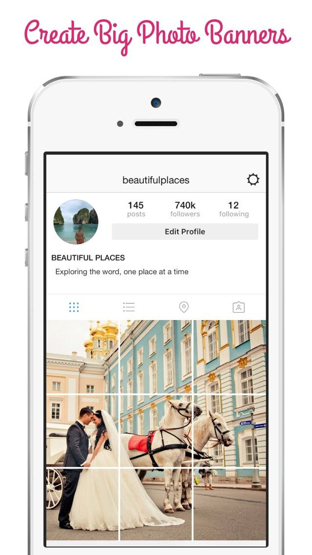 Pic Split Post - Create Big Banner Photo & Grid for Instagram ...