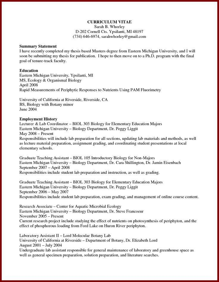 Current Phd Student Resume. 20 cv for phd application phd cover ...
