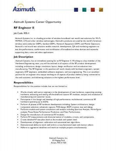 v uday kumarsr rf engineer. documents similar to rf planning and ...