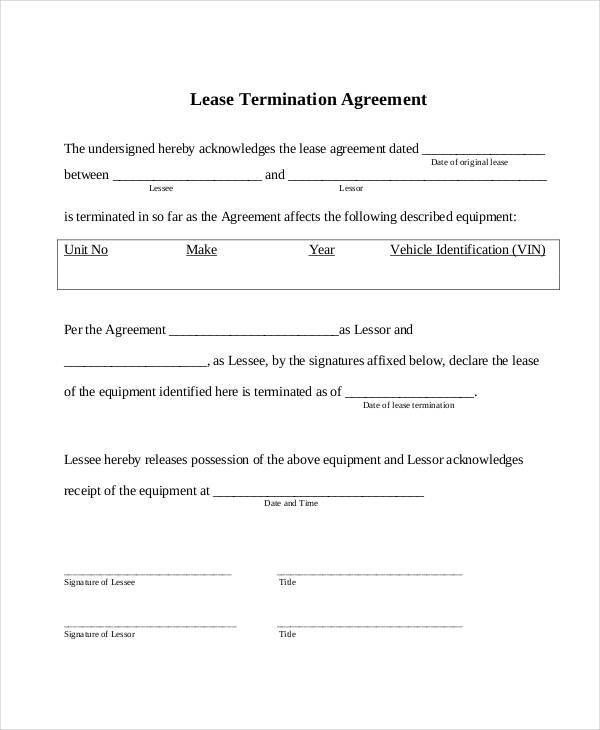 Simple Lease Agreements. Free Printable Simple Lease Agreement_3 .
