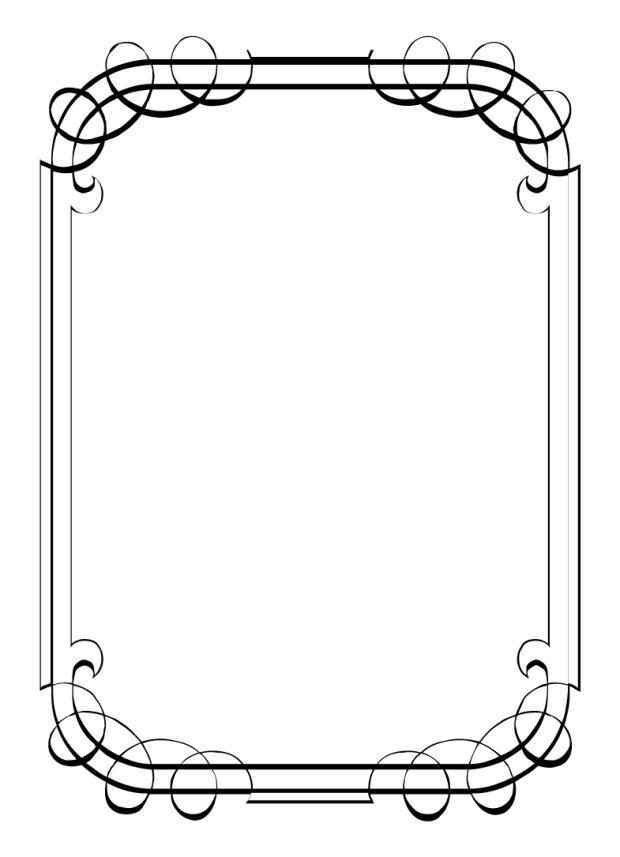 Free Printable Borders For Word - Template Update234.com ...