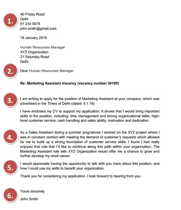 to Create a Fresher Cover Letter