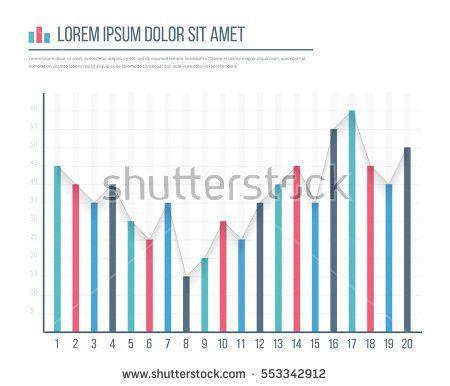 Whiteboard Growing Bar Graph Stock Illustration 544071970 ...