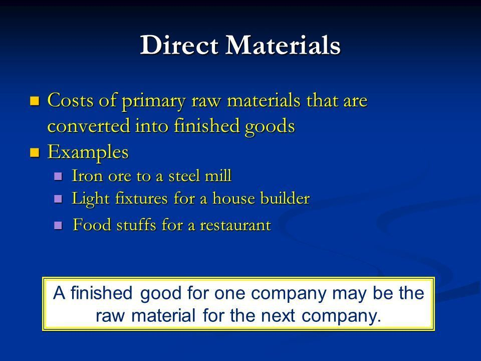 Module 17 Product Costing. - ppt download