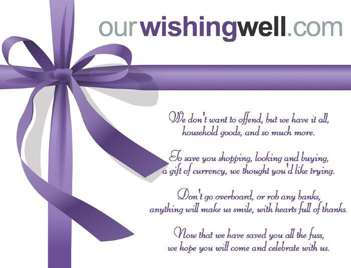 OurWishingWell.com - Online Gift Registry and Wishing Well ...
