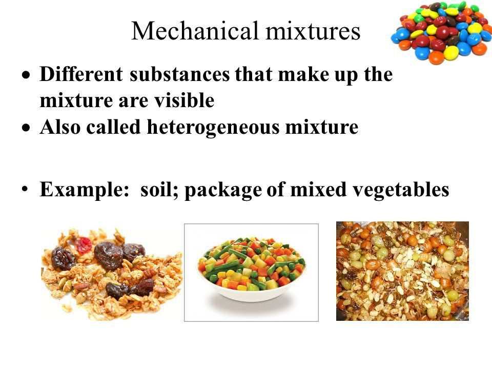 Mixtures and Pure Substances All matter is either a pure substance ...