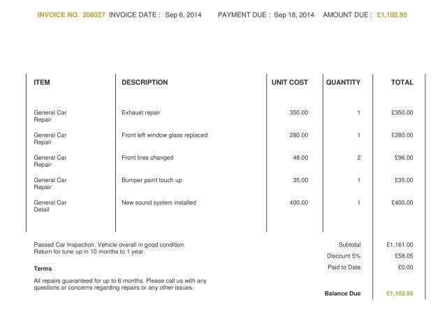 Occupyhistoryus Wonderful Blank Invoice Template Blankinvoiceorg ...