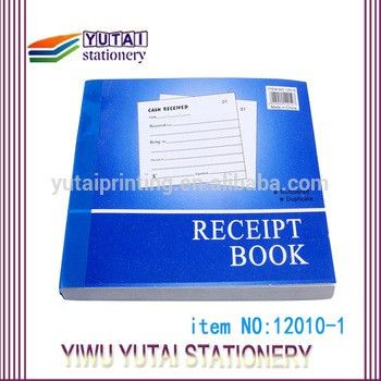 Carbonless Invoice Sample Rent Receipt Book Customized - Buy ...