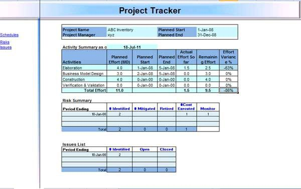 Project Management Templates - Microsoft Word Templates