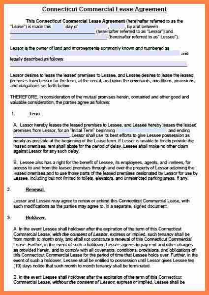 9+ commercial property lease agreement sample | Purchase Agreement ...