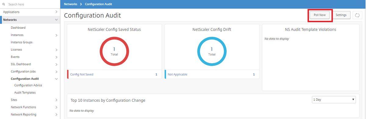 Audit Configuration Changes Across Instances
