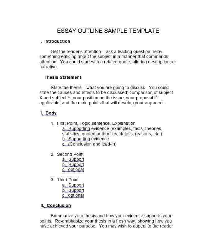 Essay Outline. Comparison-Contrast-Essay-Outline-Worksheet ...