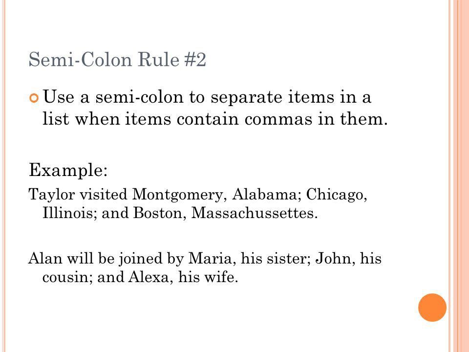 Coordinating Conjunctions Rule 32a - ppt download