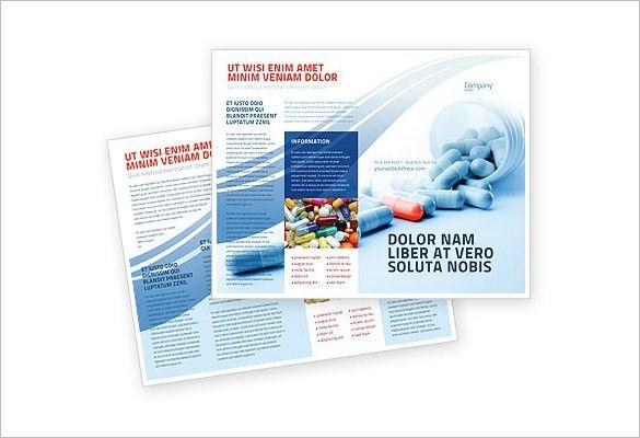 11+ Drug Brochure Templates – PSD, Illustrator Files Download ...