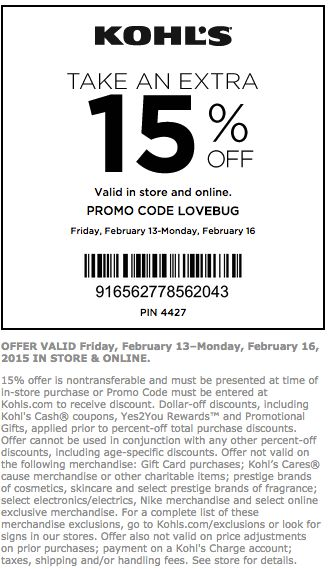 Kohls Coupons - August 2017 Coupon Codes & Printable Coupons ...