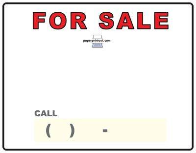 jolie blogs: for sale sign car