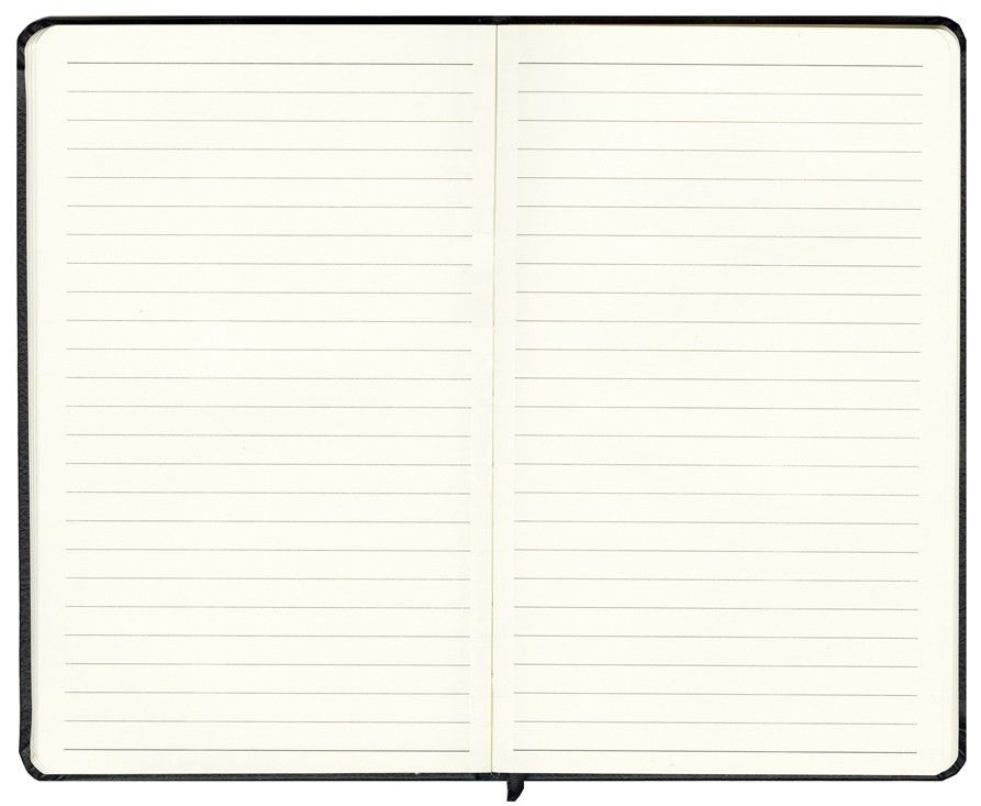 Cork Textured Journal, 192 Pages Thin-Lined Cream Paper