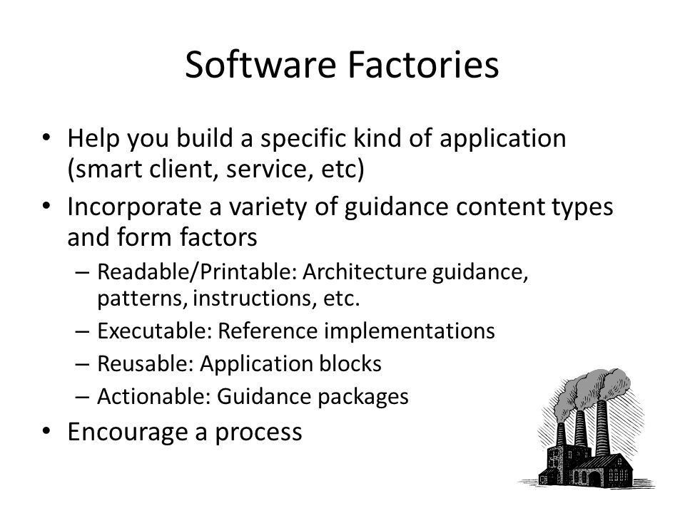 A Web Service Software Factory Introduction Don Smith Product ...