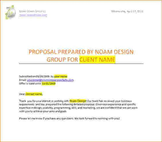 Website Proposal Sample. Freelance Sample Bid Proposal Letter ...