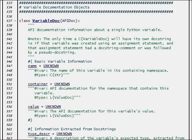 Python API documentation generation tool download | SourceForge.net