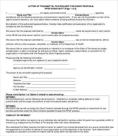 Transmittal Letter - 8+Free Word, PDF Documents Download | Free ...