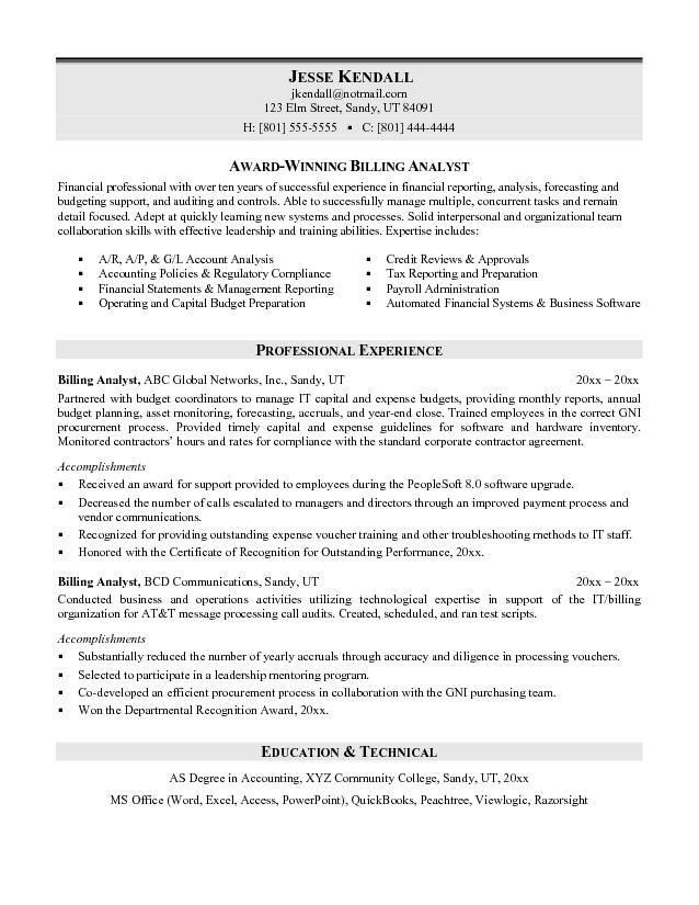 awesome collection of workflow analyst sample resume for template ...