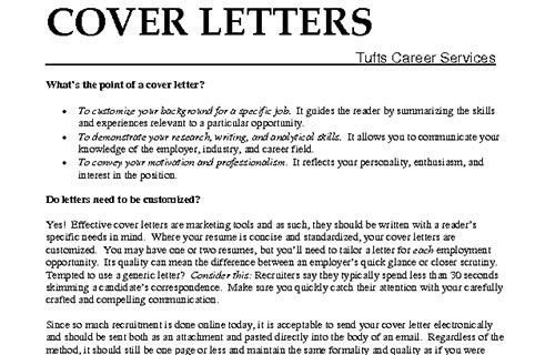 What Should A Covering Letter Include 19 What Should A Cover ...