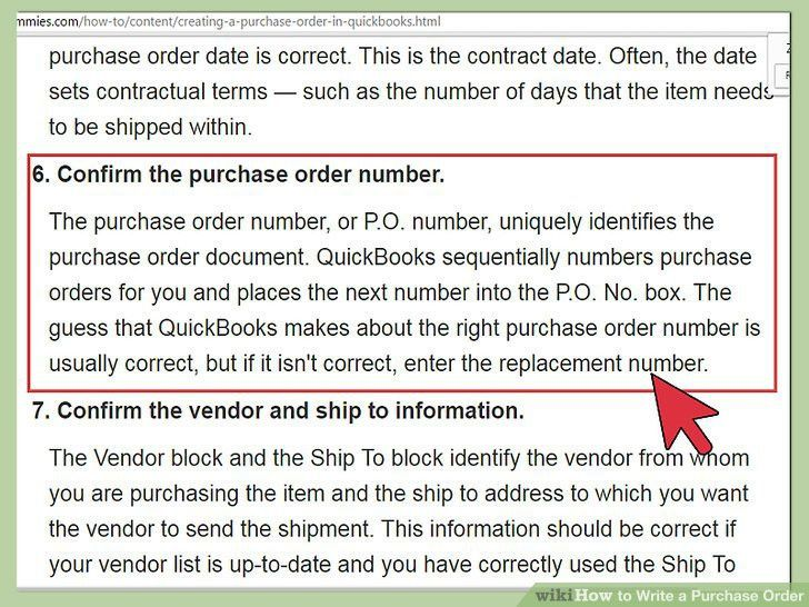 4 Ways to Write a Purchase Order - wikiHow