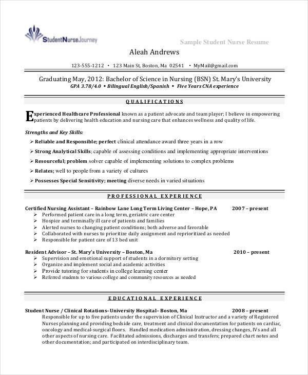 23+ Resume Format Samples | Free & Premium Templates