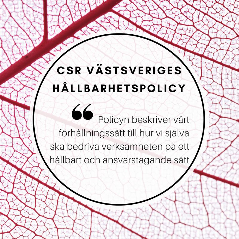 CSR Västsverige | LinkedIn
