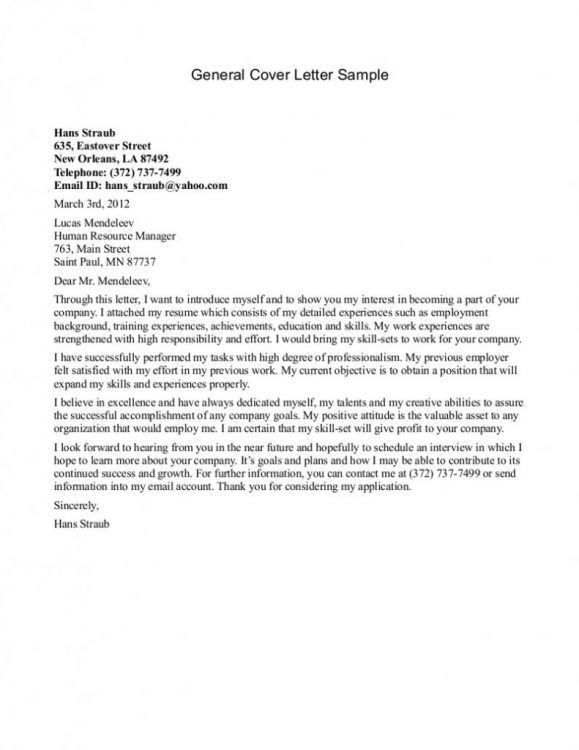 The 25+ best Sample of cover letter ideas on Pinterest | Sample of ...
