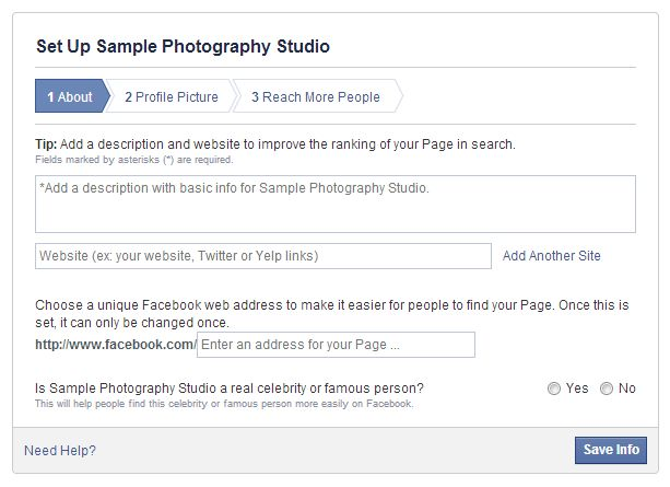 How To Start a Powerful Facebook Page for Your Photography ...