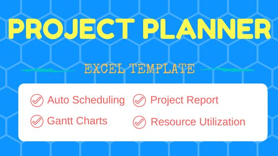 Project Planner Template - Free Project Management Excel template