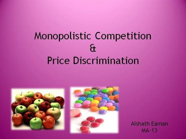 Monopolistic Competition |authorSTREAM
