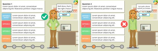 Free Storyline 2 Multiple Choice Quiz Template - Building Better ...