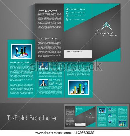 Tri Fold Brochure Design Stock Images, Royalty-Free Images ...