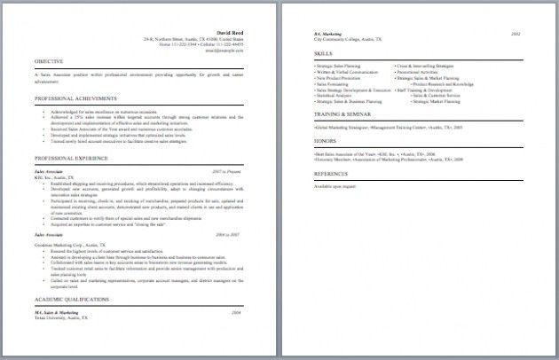 Stock Associate Resume – Resume Examples