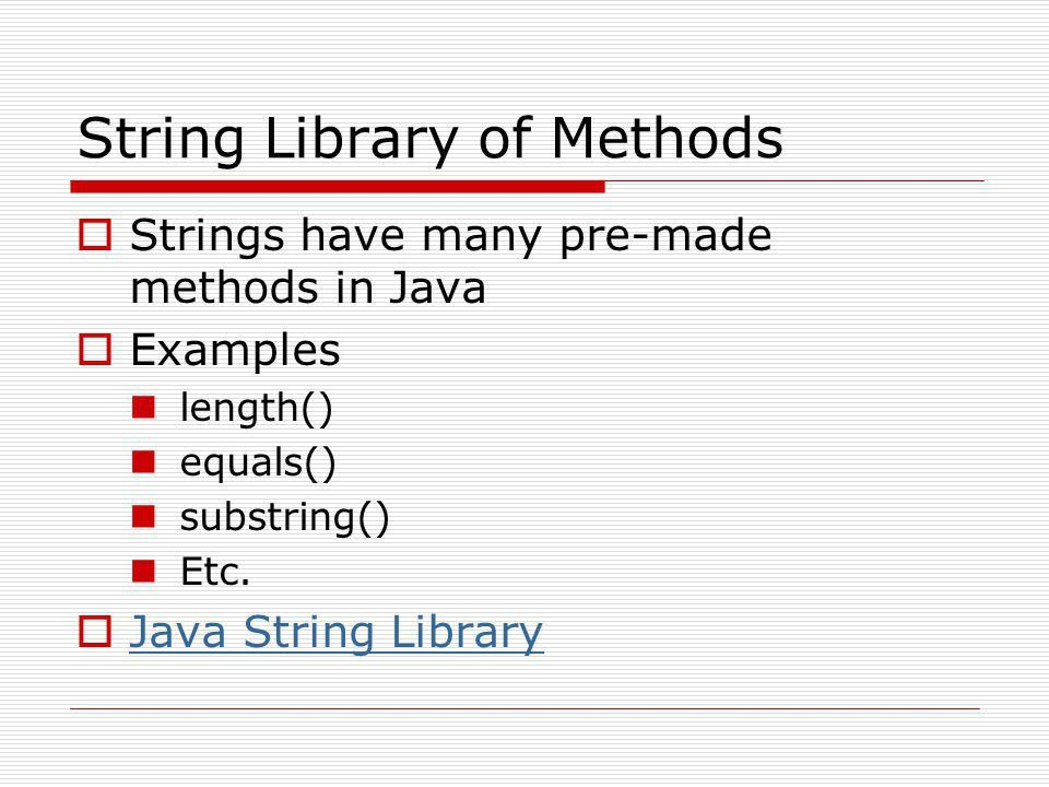 Java Strings in 10 minutes - ppt download