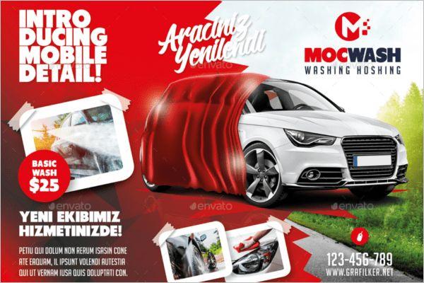 Car Wash Flyer Templates Free & Premium PSD Templates | Creative ...
