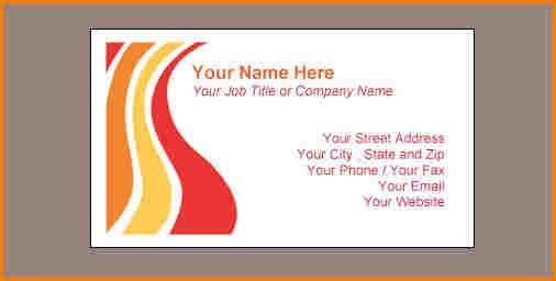 6+ business card templates word | wedding spreadsheet