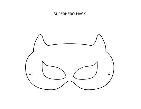 Sample Superhero Mask - 6+ Documents in PSD, PDF, Vector